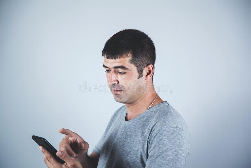 人手智能手机 免版税库存照片