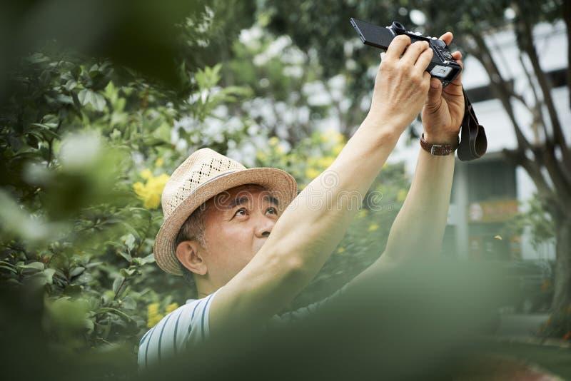 人拍摄的户外 免版税库存照片