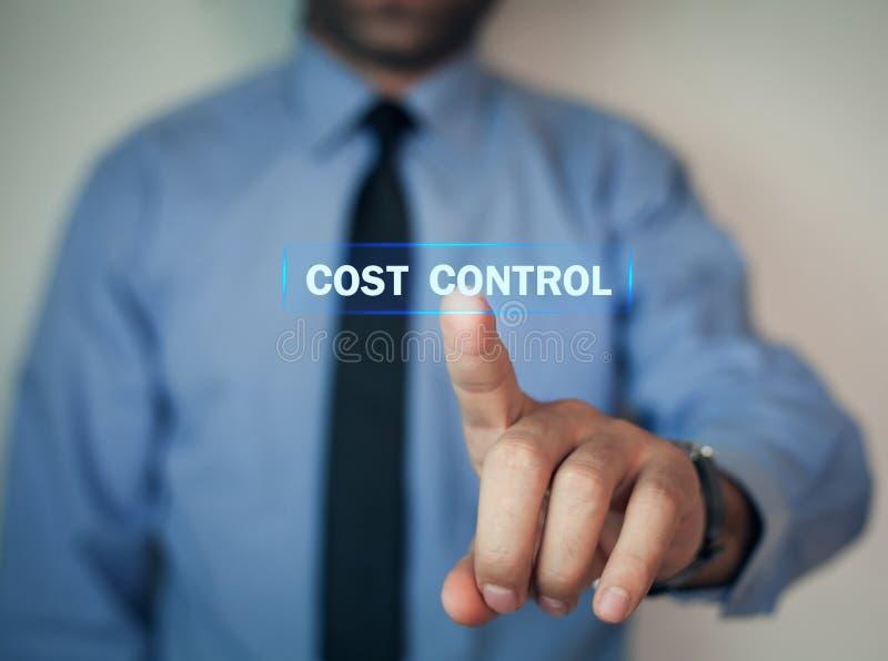 人接触成本控制 免版税库存图片