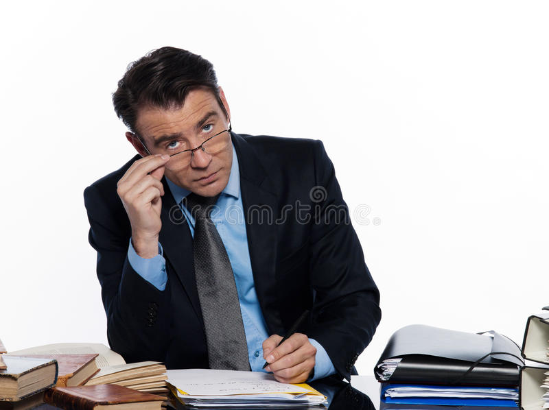 人教师辅导 免版税库存图片