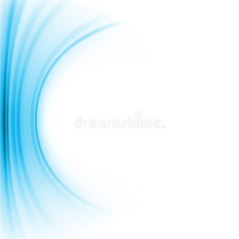 令人敬畏的抽象蓝色背景。 EPS 8 向量例证