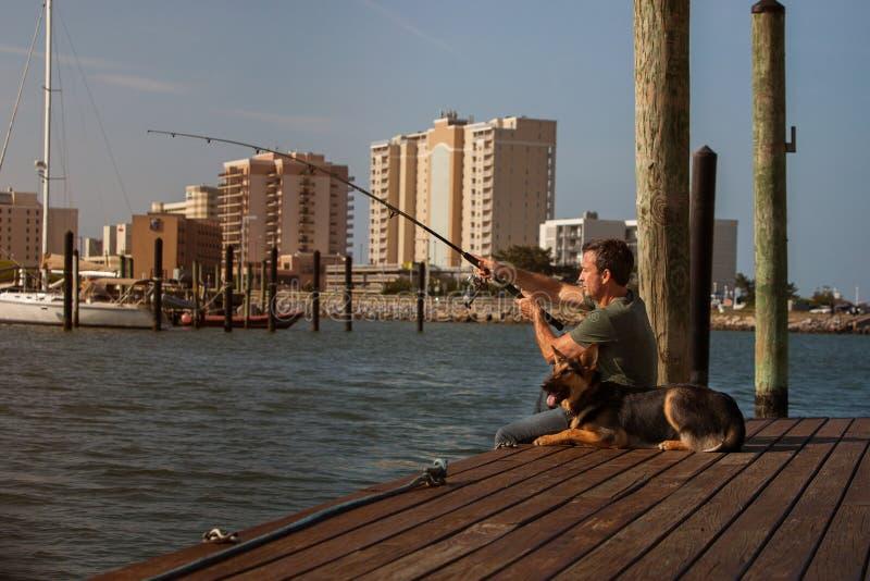 人渔 免版税库存图片