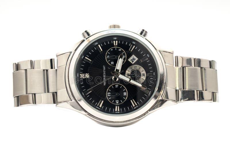 人的手表 免版税库存图片