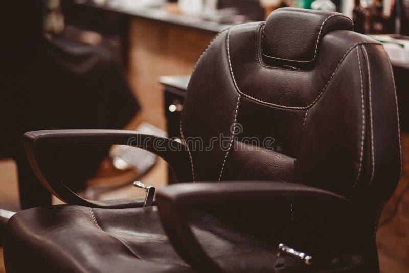 人的理发店 免版税图库摄影