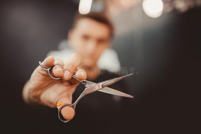 人的理发店 图库摄影