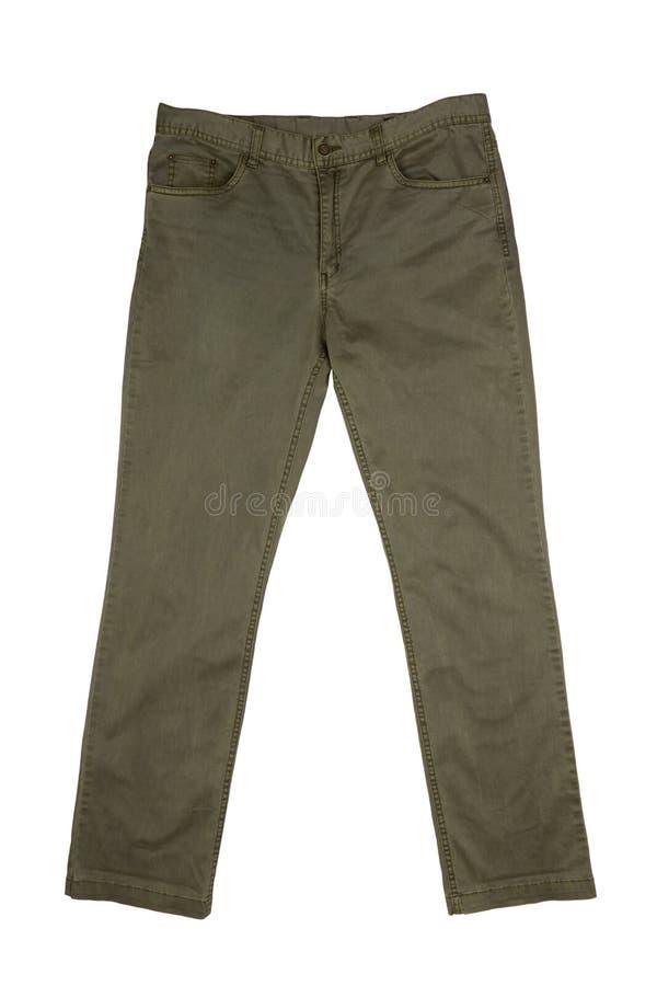 人的长裤 免版税库存照片
