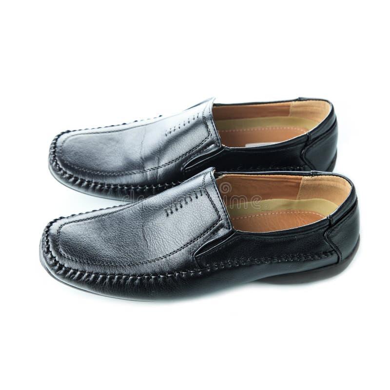黑人的鞋子 免版税图库摄影