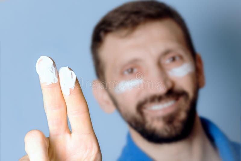 人的Skincare 免版税库存照片