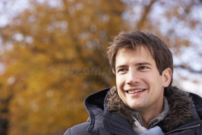 人纵向微笑 库存照片