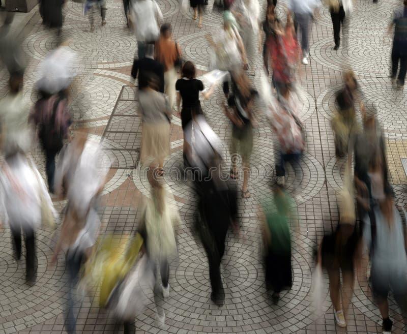 人群 免版税图库摄影