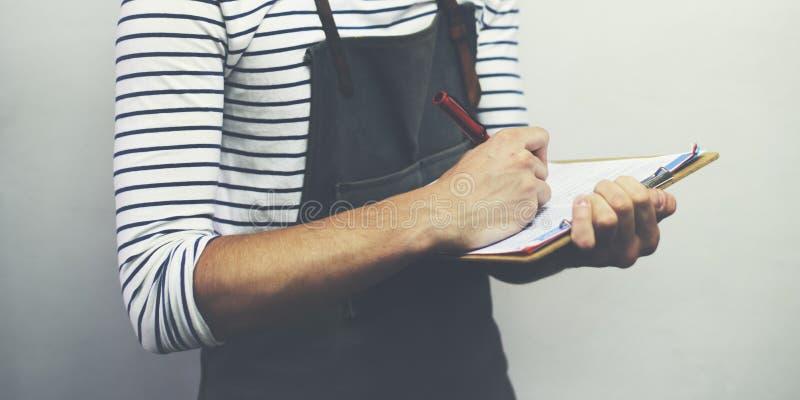 人职业工匠专业兴趣Cocnept 免版税库存照片