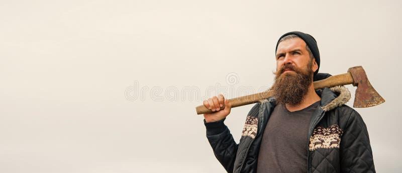 人行家或人有胡子和髭的 库存图片