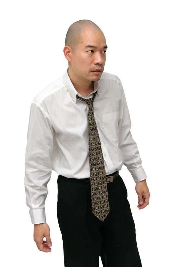 人衬衣关系 免版税库存图片