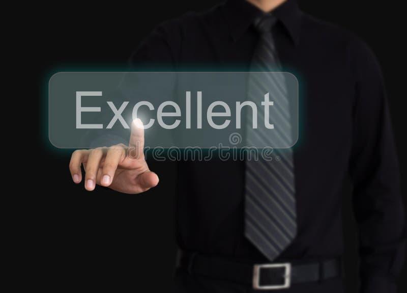 人评估优秀质量 库存照片
