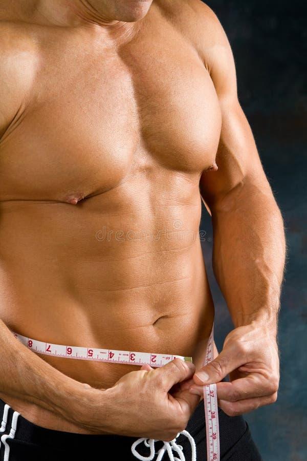 人评定的腰部 免版税库存照片