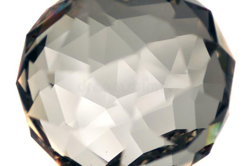 人造金刚石玻璃 免版税库存图片