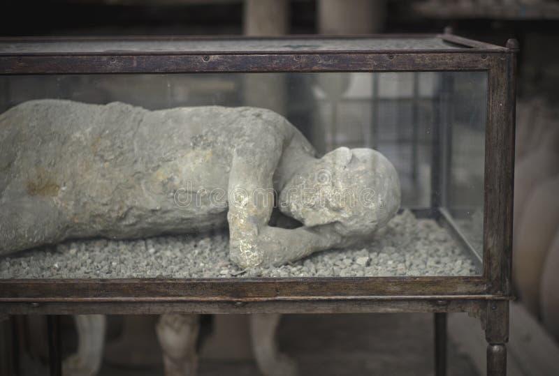 人遗骸在波纳佩 免版税库存图片