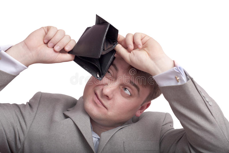 人钱包 免版税库存图片