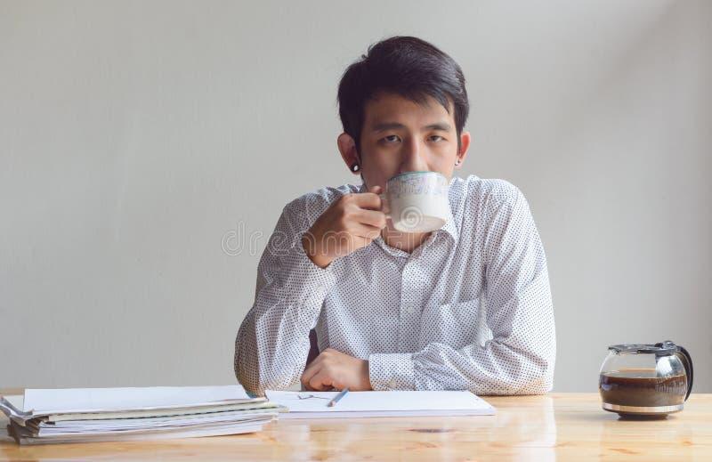 人饮料咖啡 库存照片
