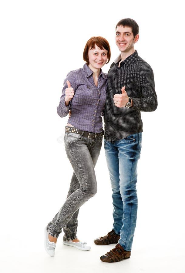 人高兴妇女年轻人 库存图片
