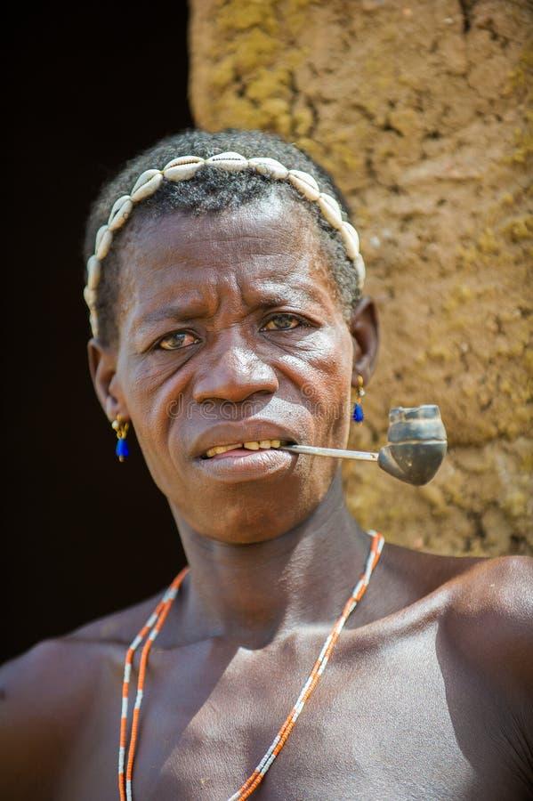 人们在卡拉,多哥 免版税库存图片