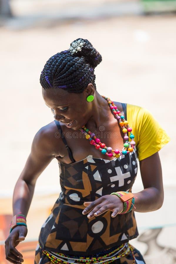 人们在安哥拉,罗安达 免版税图库摄影