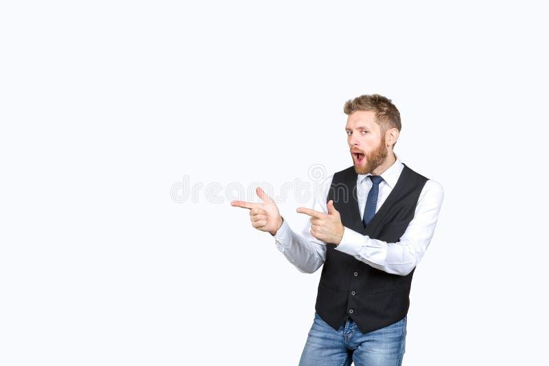 人ishows用在有趣的事的两只手 免版税库存图片