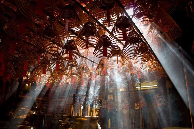 人MO寺庙。 香港。   库存图片