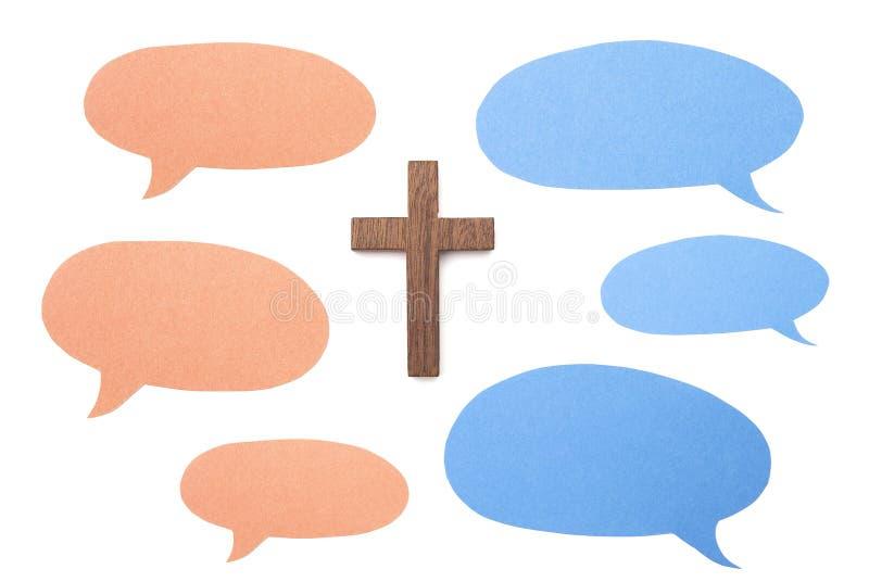 什么人民说关于耶稣 免版税库存照片