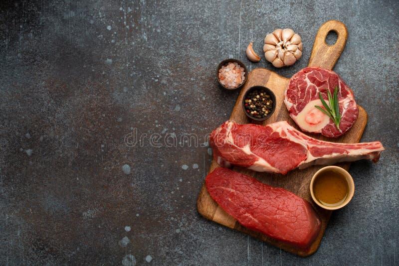 什锦肉块 免版税库存图片