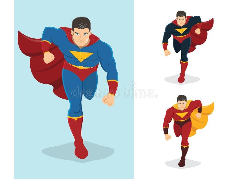 今后跑的超级英雄 皇族释放例证
