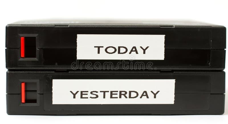 今天的备用带 免版税库存照片