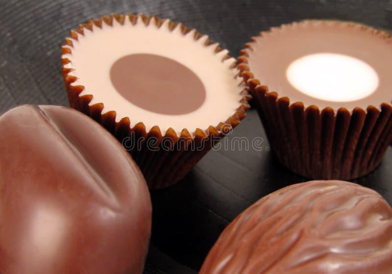 仍然巧克力生活 免版税图库摄影