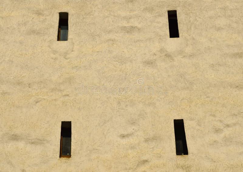 从一个老塔的射击孔在布拉索夫 免版税库存照片