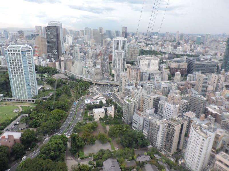 从上面的东京 库存照片