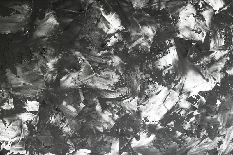 从上面的看法到艺术摘要黑白背景 库存图片