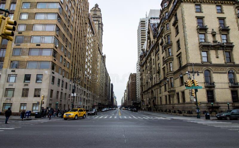 从中央公园的看法 免版税库存照片