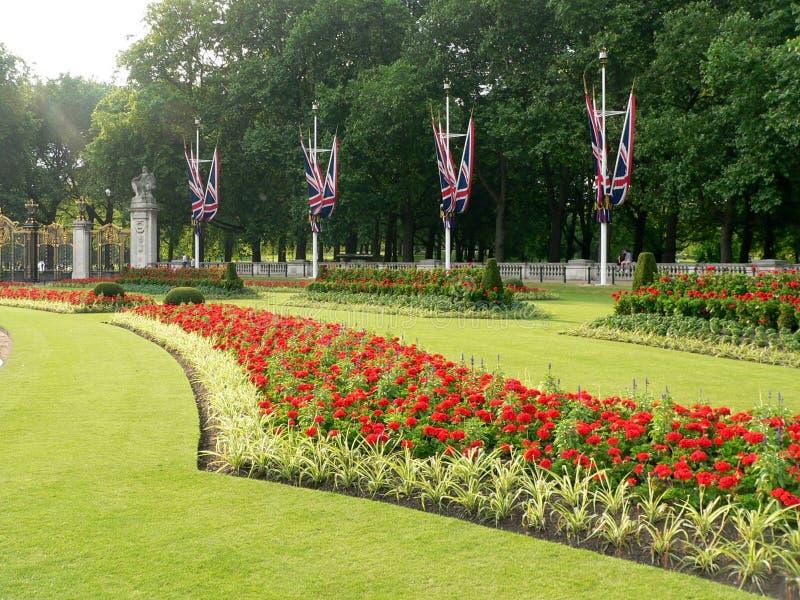 从事园艺伦敦 免版税库存图片