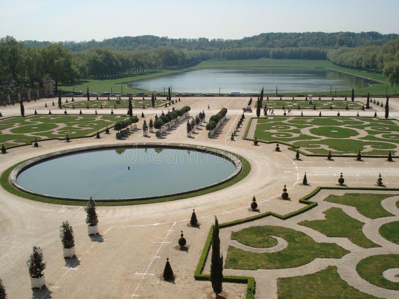 从事园艺巴黎versaille 库存照片