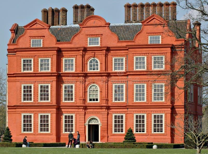 从事园艺kew宫殿英国 库存图片