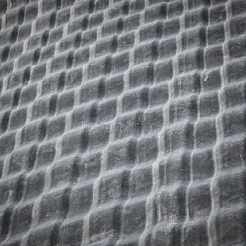 从五谷容器的起波纹的金属纹理 库存图片