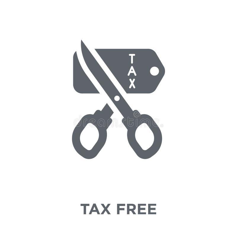 从交付和后勤收藏的免税象 向量例证