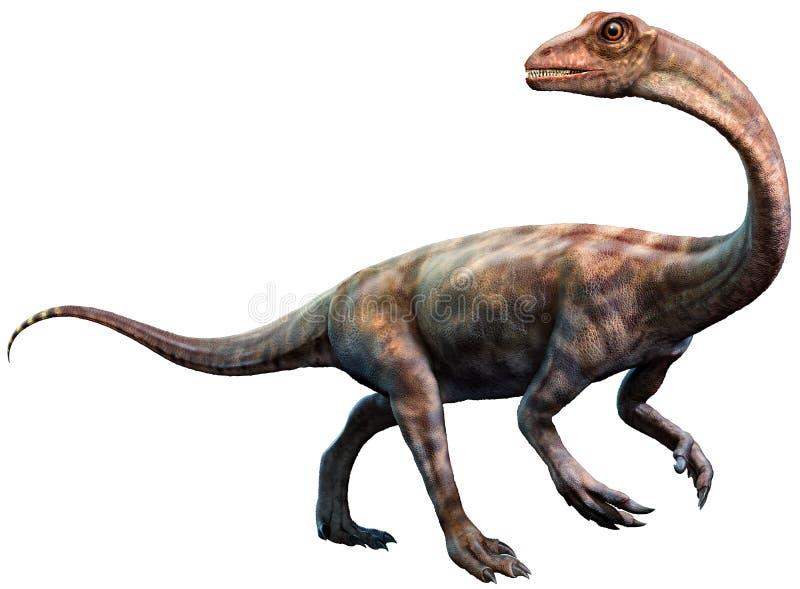 从侏罗纪时代3D例证的近蜥龙 向量例证