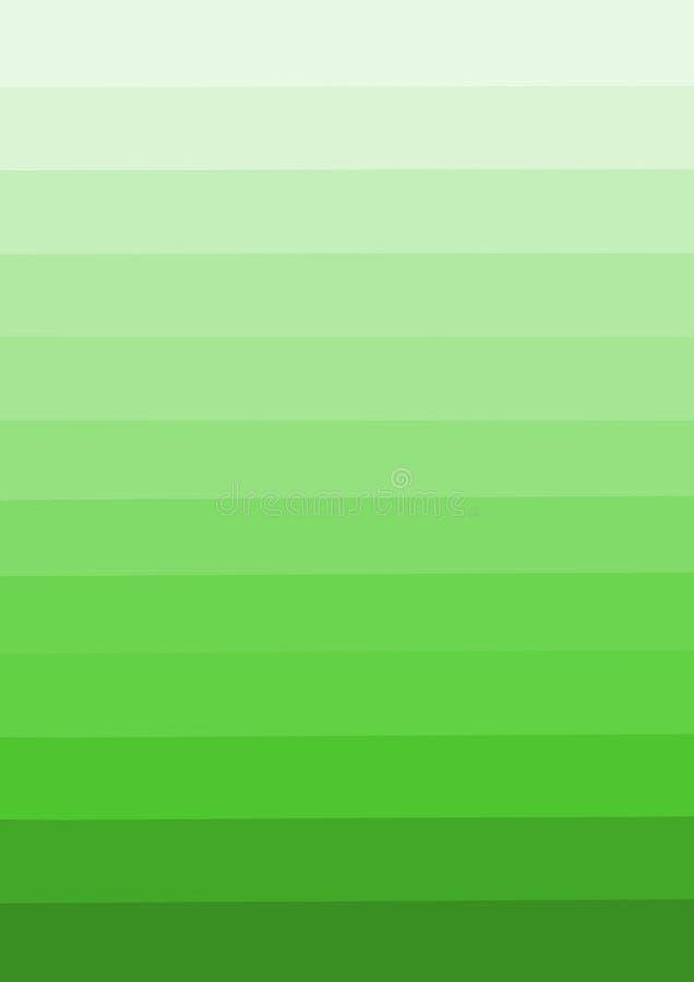 从冠上的底部的退色的绿色 库存例证