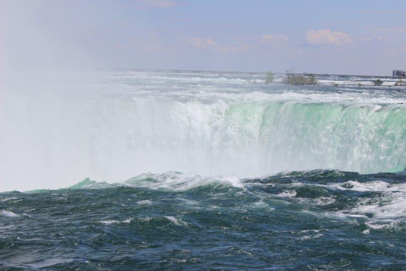 从加拿大的尼亚加拉大瀑布 库存照片