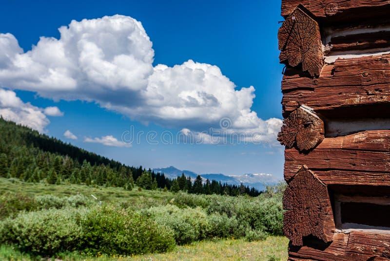 从北风之通行证,科罗拉多的看法 库存照片