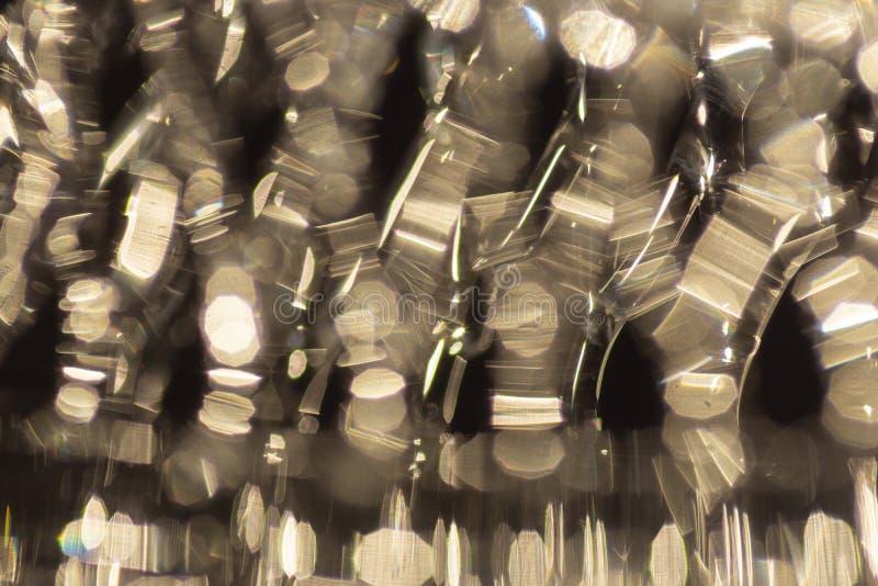 从在玻璃反映的阳光的强光 库存例证
