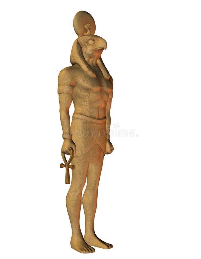 从埃及神话的Horus 向量例证