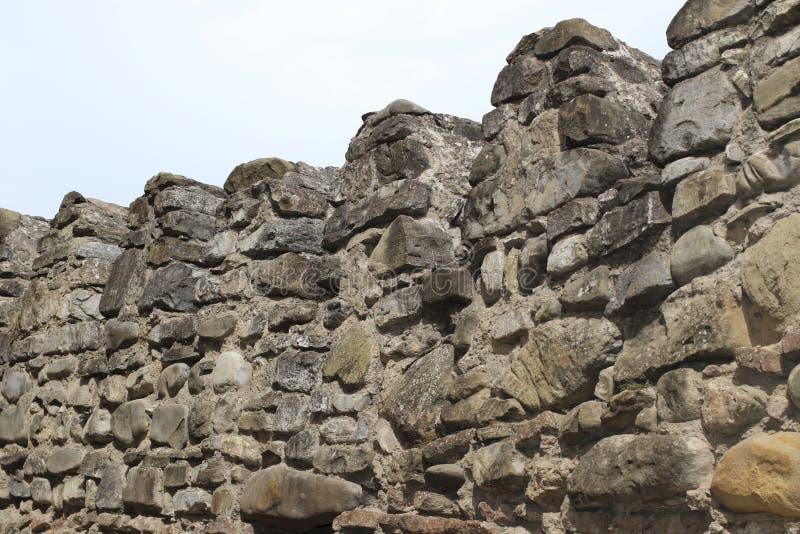 从大石头的堡垒城垛在乔治亚 库存图片