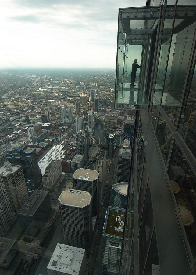 从威利斯大厦的看法 免版税库存照片